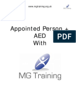 Appointed Person + AED Manual for Munnellys