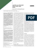 Gasometría Arterial en Pacientes Con Enfermedad Pulmonar Obstructiva Crónica Estable Según Los Valores de La Espirometría