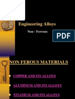 Engineering Alloys(Non Ferrous)
