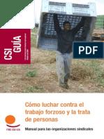 Como Luchar Contra El Trabajo Forzoso y La Trata de Personas