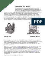 Historia Del Motor de Automovil