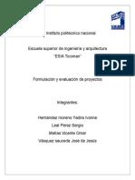 formulacion y evaluacion de proyectos borrador.doc
