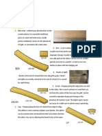 Wood Defectand Joints