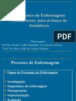 Diagnostico de Enfermagem Planejamento Para as Bases Da Assistencia