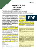 Lysosome Regulator of Lipid Degradation Pathways