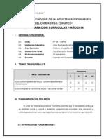 Programacón Curricular 2011 - H.G.E .doc  2º.doc