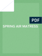 Spring Air Matress