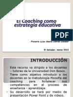 El Coaching Como Estrategia Educativa