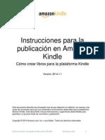 Amazon Kindle Publishing Guidelines ES