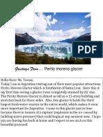 latin america postcards perito moreno glacier world cultures
