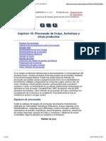 Capítulo 10_ Procesado de Frutas, Hortalizas y Otros Productos