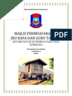 Kertas Kerja Majlis Permuafakatan