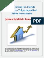 Aztec Group Inc Florida Singapore Tokyo Japan Real Estate Investments - Jahresrückblick