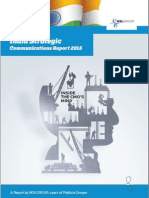 India Strategic Communications Report 2015