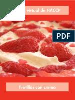 HACCP Frutillas con crema