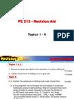 PE 213_Revision Aids