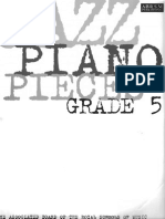 ABRSM - Jazz Piano Pieces Grade 5