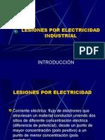 Lesiones Por Electricidad Industrial