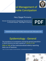 Medical Management of Intractable Constipation (FINAL)2