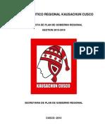 Resumen Plan de Gobierno Kausachun Cusco