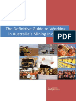 The Definitive Guide to Working in Australia's Mining Industry