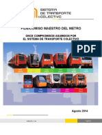 11 compromisos Metro