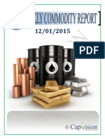 Commodity Weekly Report 12-1-2015