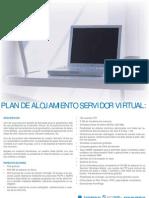 Plan de alojamiento servidor virtual