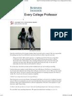 10 Things Evrey College Professor Hates