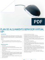 Plan de alojamiento servidor virtual-ISP