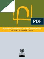 Balance Preliminar de las Economías de América Latina y el Caribe