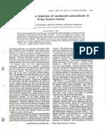 Resonance Raman Detection of Carotenoid Antioxidants in Living Human Tissues