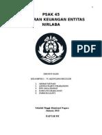 PSAK 45 (Pelaporan Keuangan Entitas Nirlaba)