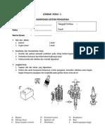 Lembar Kerja 1 Komponen Sistem Pengapian
