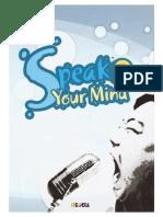 Speak Your Mind 2