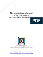 Financiación mundial en  Nanotecnología ( PDF )