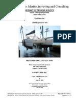 1993 37' Lagoon TPI Damage Claim Sample Survey