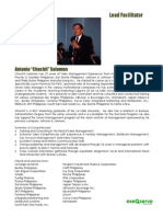 Key Account Management Program Facilitator Profile