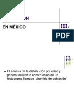 Poblacion en Mexico