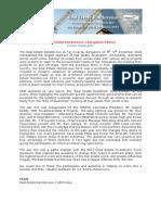 Post Event Report - RER Bangalore
