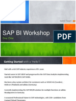 SAP BI Workshop Day One