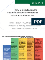 2013 Acc Aha Guideline on the Treatment of Blood Cholesterol to Reduce Athersclerotic Risk