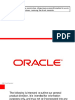 Oracle Database Appliance Customer Presentation