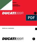 2005 Ducati 999R Owner's Manual