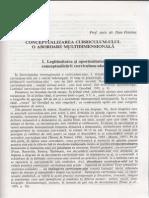 Dan Potolea - Conceptualizarea Curriculum-ului o Abordare Multidimensionala