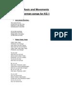 German Songs