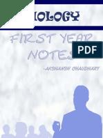 Biology Notes - Akshansh