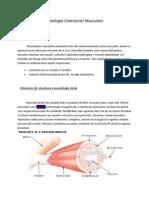 Fiziologia contractiei musculare