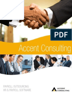 Accent Consulting Brochure