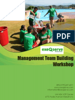 Management Team Building Outline